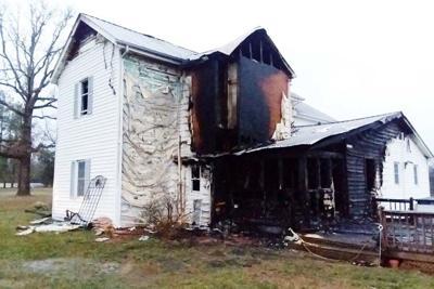 Fire destroys family home