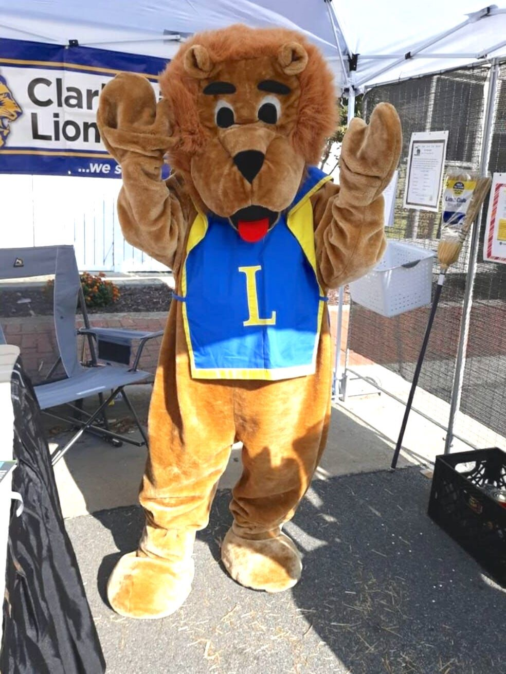Clarksville Lions share initiatives at the Harvest Days Festival
