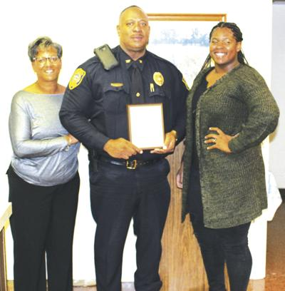 Chase City Town Council honors Police Chief
