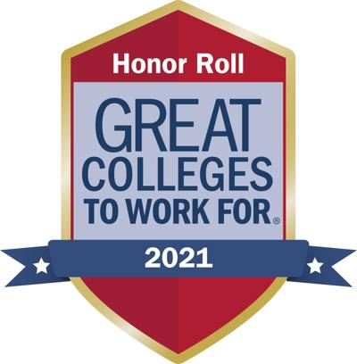 """Southside Virginia Community College named a """"2021 Great College to Work For"""""""