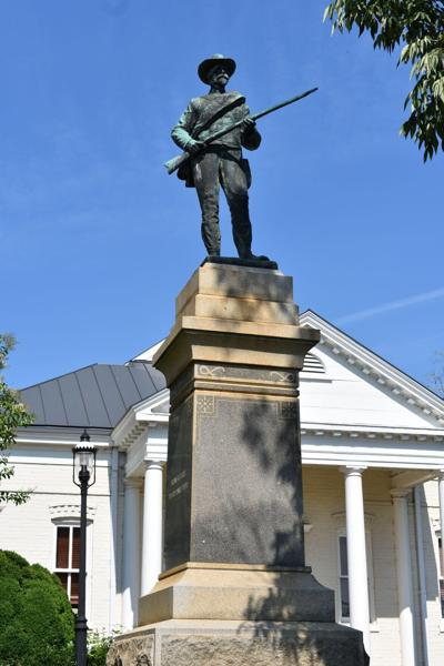 Confederate Monument being relocated to Boydton graveyard