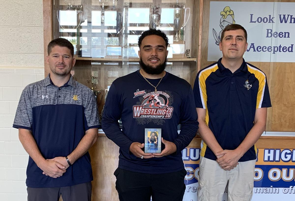 Bluestone inducts two to wrestling hall of fame