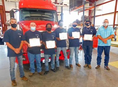SVCC Diesel Technician Program Graduates