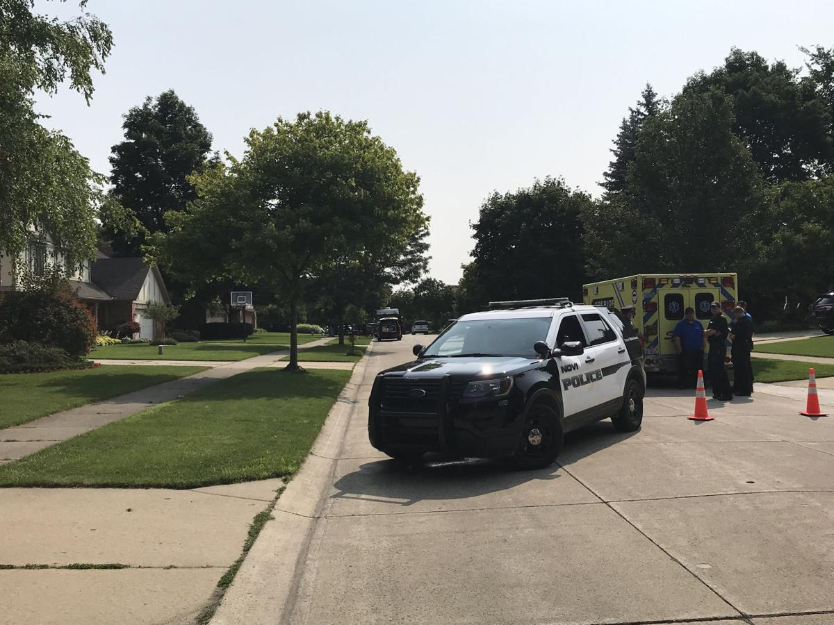 Novi police barricaded man