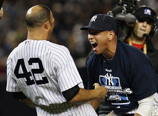 Yankees beat Angels 5-2, advance to World Series