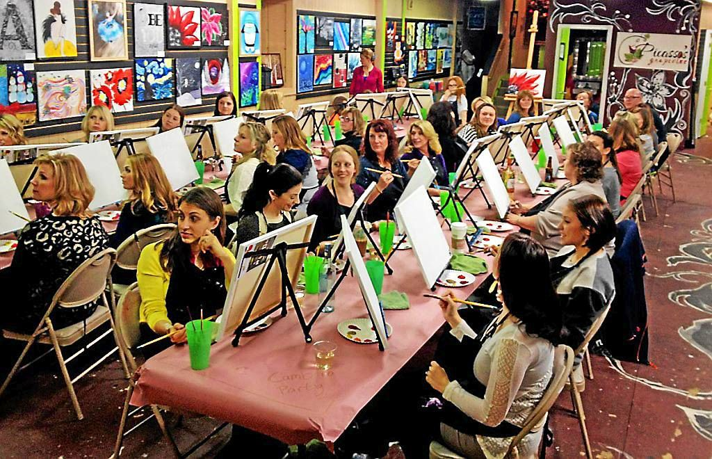 Picasso's Grapevine of Clarkston brings out the artist in everyone