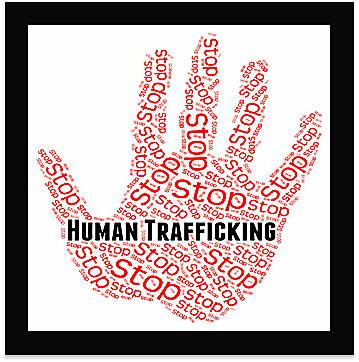 State and local officials hosting human trafficking town