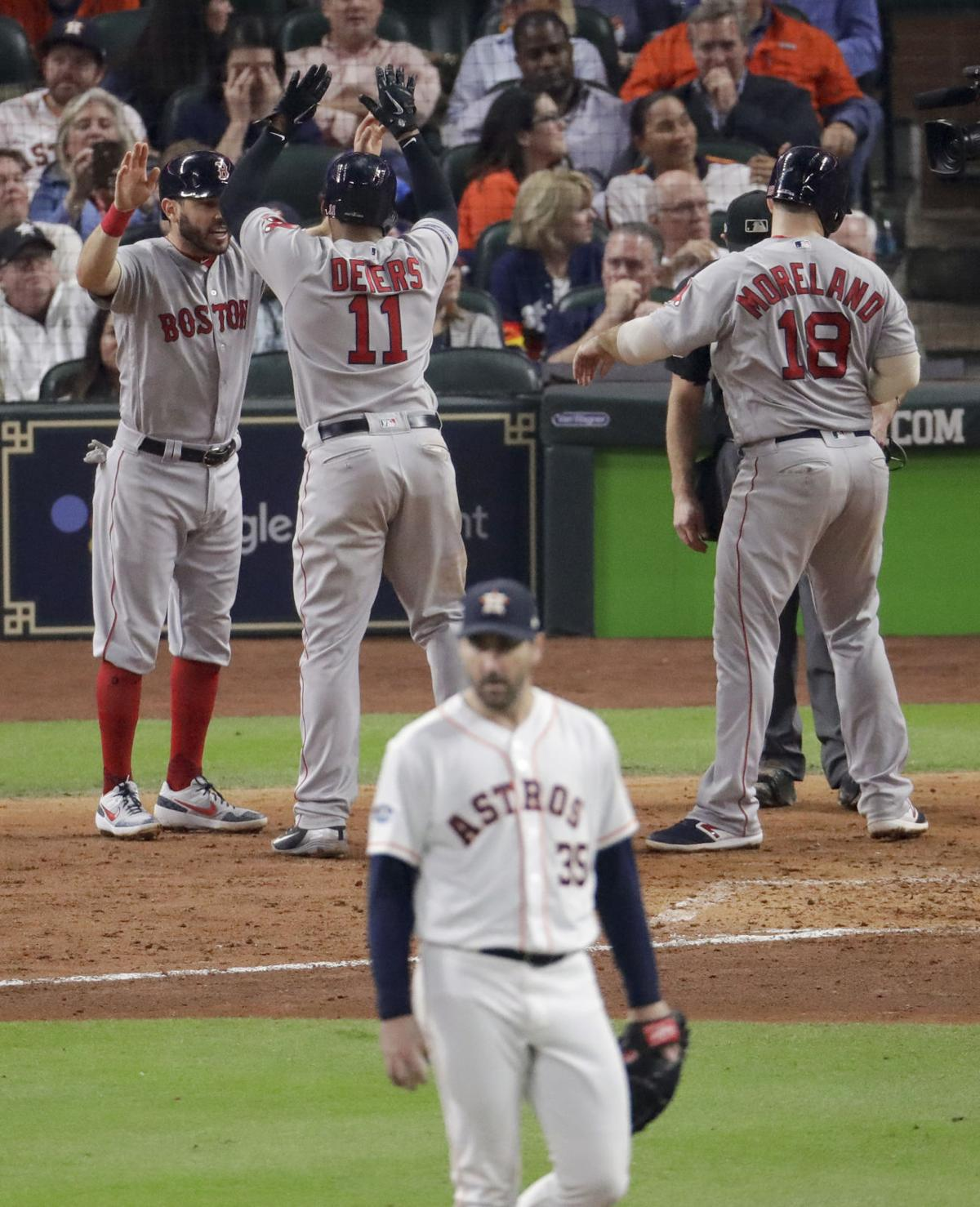 ALCS Red Sox Astros Baseball