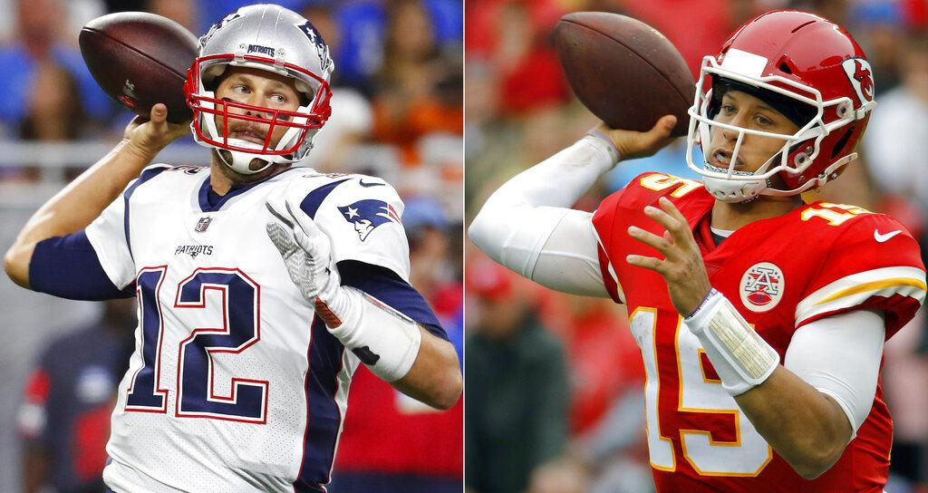 11f7f4267c6 Chiefs' bandwagon rolling into mighty Patriots at Arrowhead | Sports ...