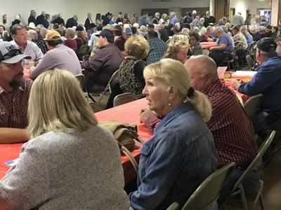 300 at Farm Bureau meeting