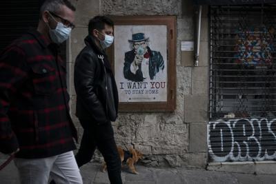 APTOPIX Virus Outbreak Spain