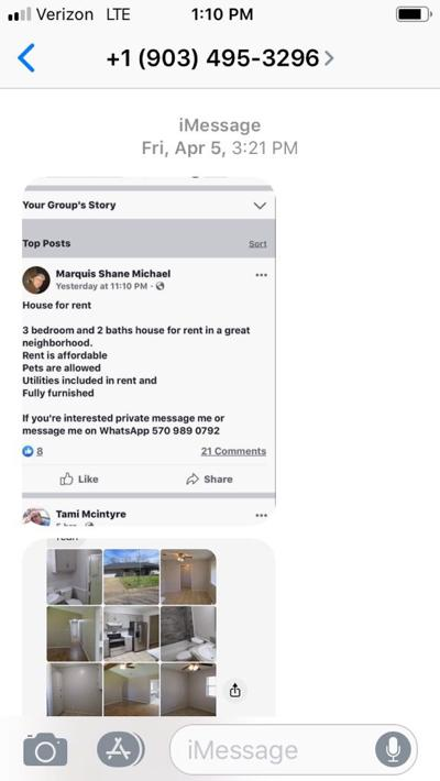 Rental Property Scam 1