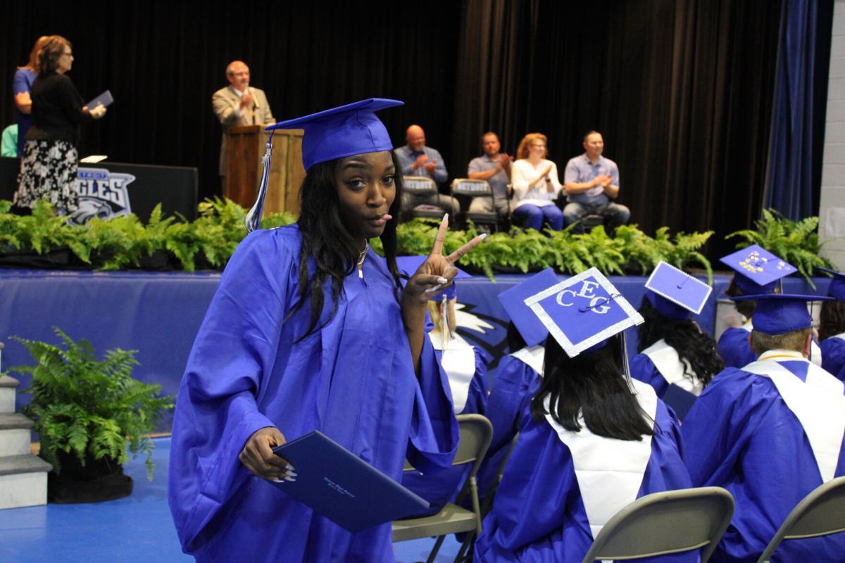 Detroit High School Graduation