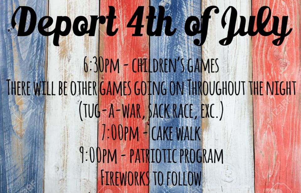 Deport Fourth of July