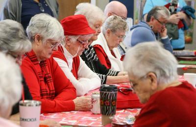 Seniors enjoy games, prizes at Pshigoda Center