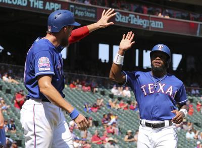 Twins Rangers Baseball