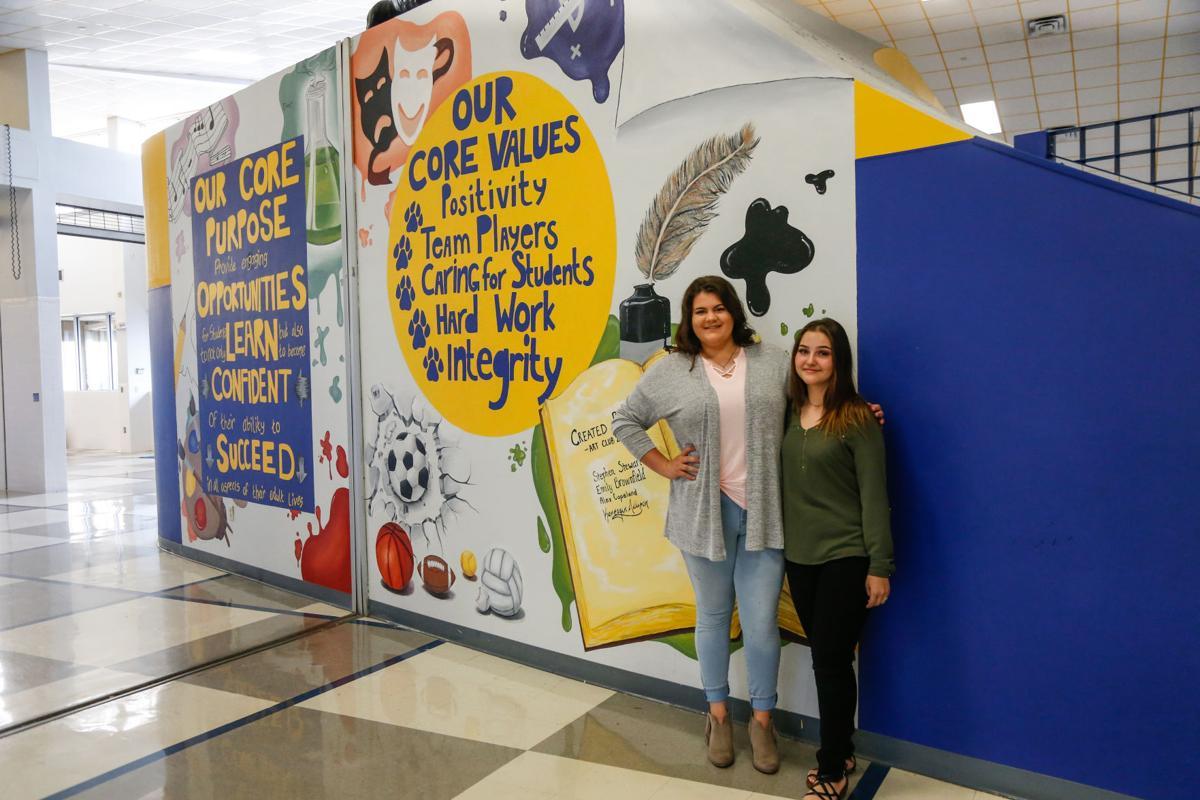 NLHS mural