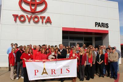Toyota Of Paris >> Everett Toyota Of Paris Holds Ribbon Cutting Business
