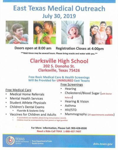 Clarksville Medical Outreach Day