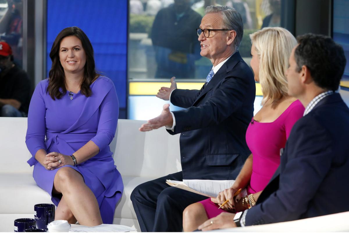 Fox & friends Sarah Huckabee Sanders