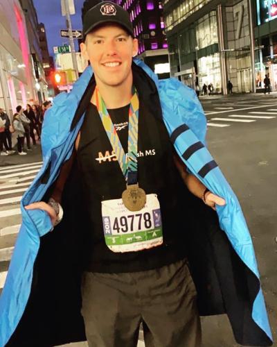 Bolton runs 2019 NYC Marathon