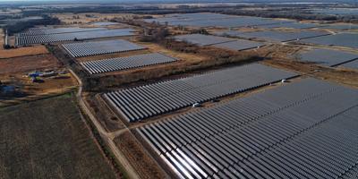 Impact Solar farm in southeast Lamar County