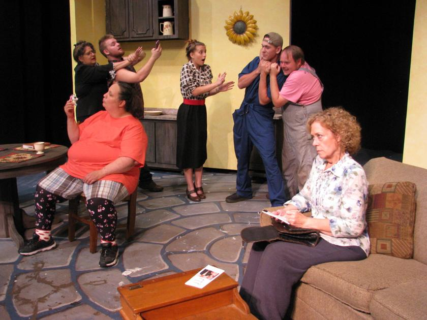 A Grave Comedy: Paris Community Theatre produces 'Dearly Departed