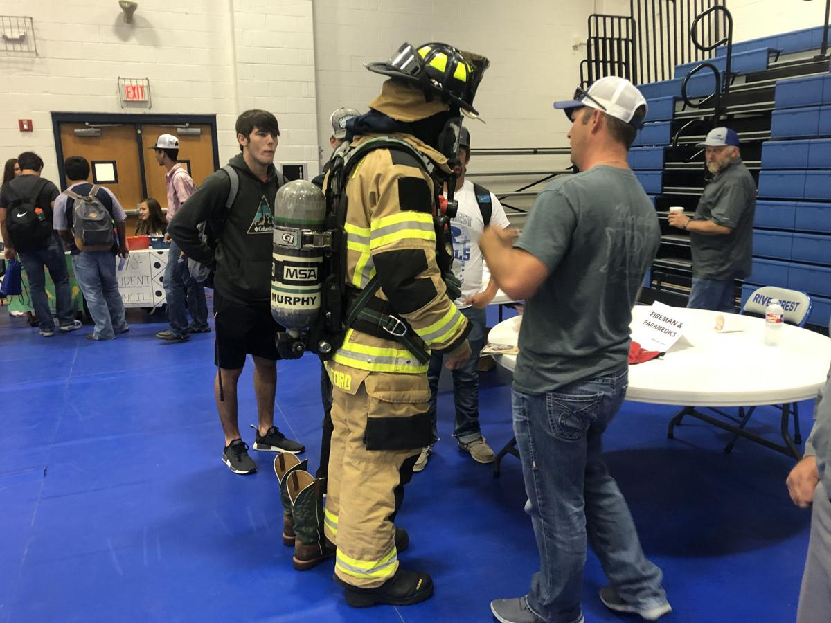 Rivercrest career fair 1