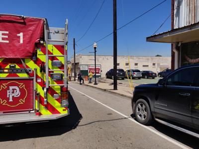 Downtown Gas Leak