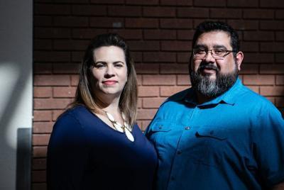 Liz and Jeremiah Peña