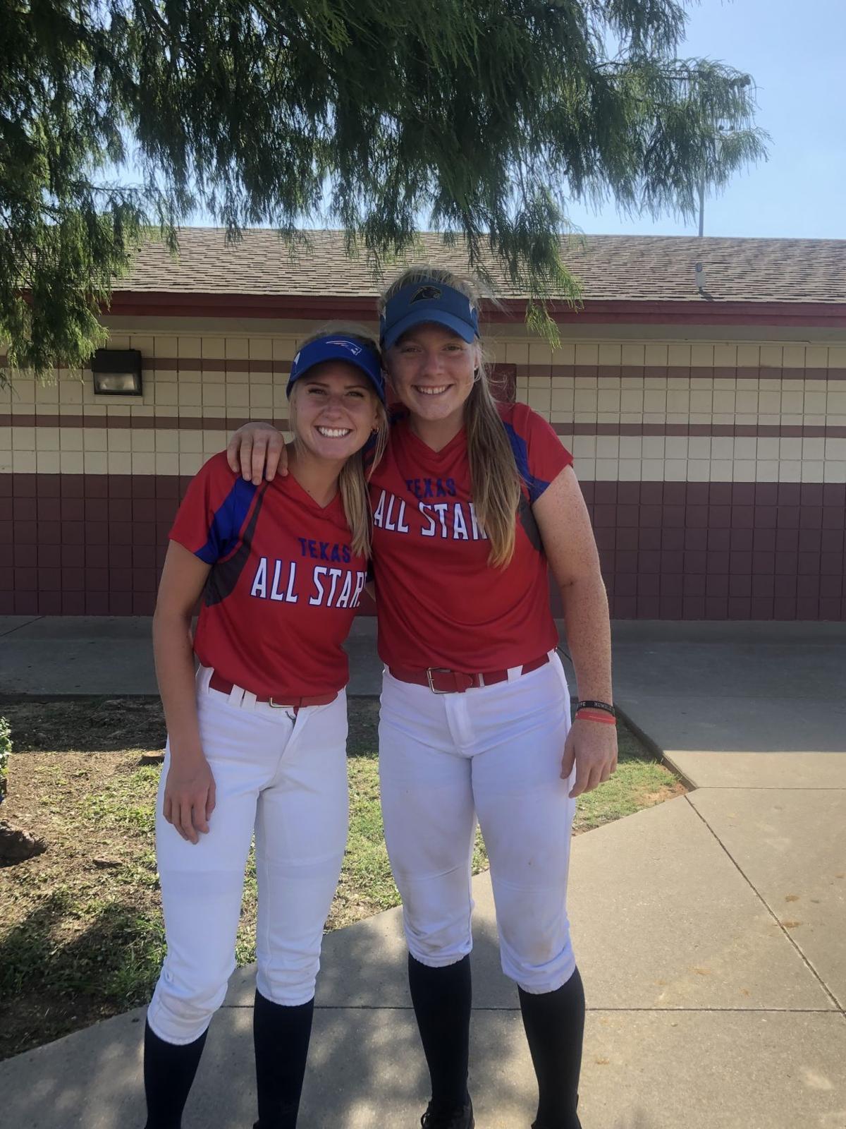 Elizabeth Preston and Ashlyn Reavis High School state softball all-stars