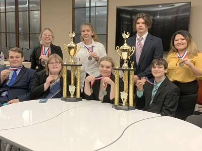 North Lamar High School UIL Speech and Debate District Champs