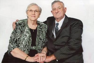 Mr. and Mrs. Luther Templeton Celebrate 60th Anniversary