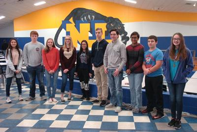 North Lamar High School science students