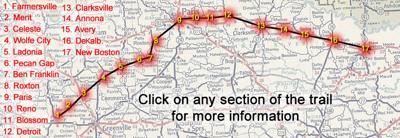 NET Trail map