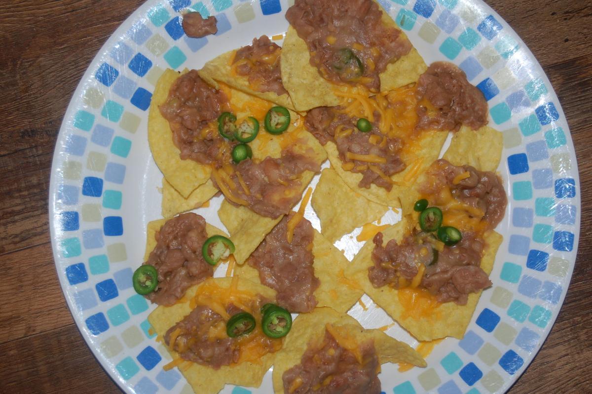 Beans and nachos
