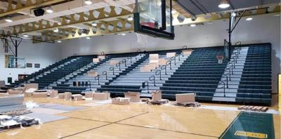 New bleachers installed for Prince George Royals