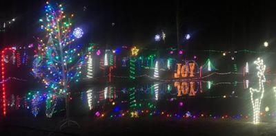 Christmas light show attracts thousands to Dinwiddie