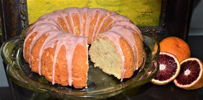 Queenie Cooks: Whole Blood Orange Cake