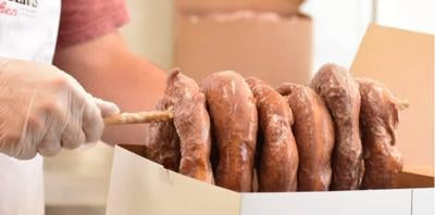 """Food and Wine names Dinwiddie-based """"Mrs Yoder's Kitchen"""" best donuts in Virginia"""
