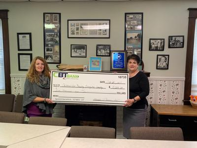 CBT Bank donates to Children's Aid Society