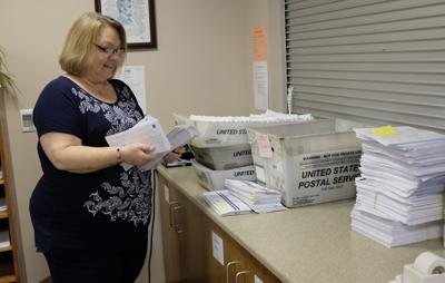 Voters mailing it in