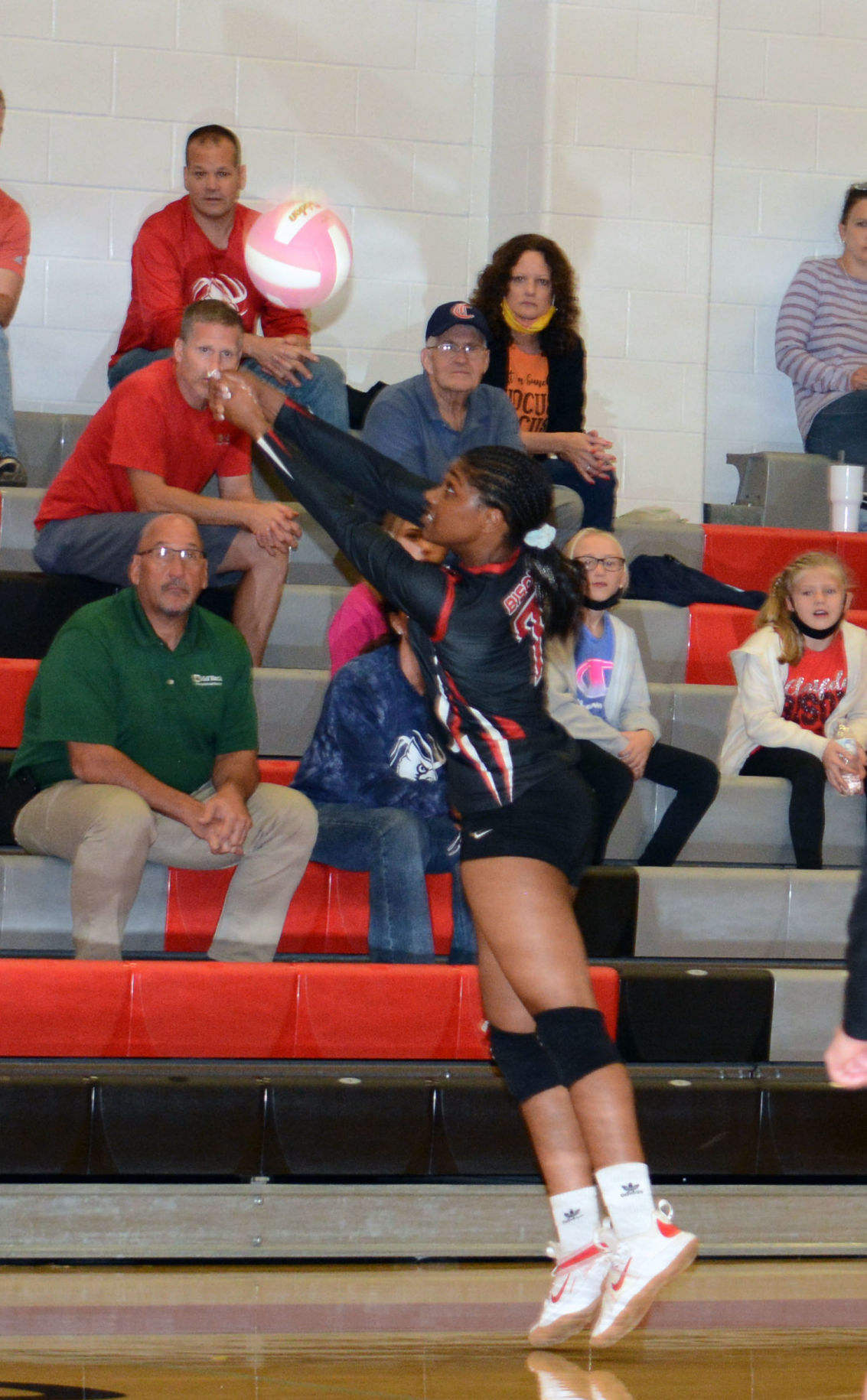 Clearfield's Kayla Reed vs DCC