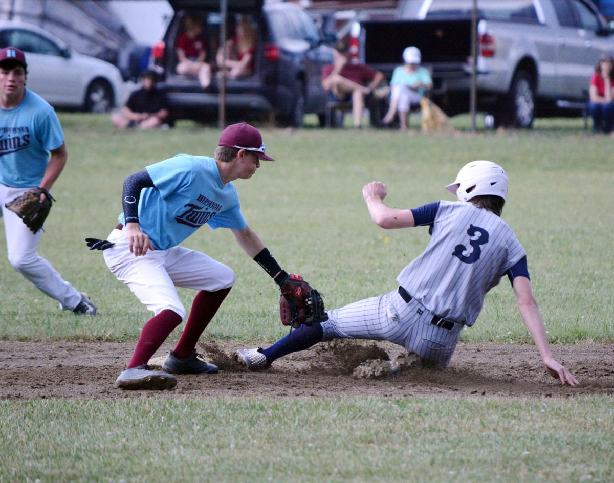 Mullins play at second