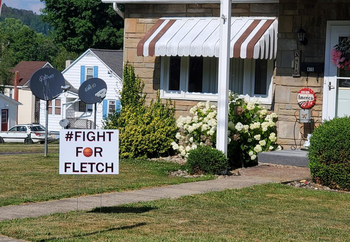 Fight for Fletch sign