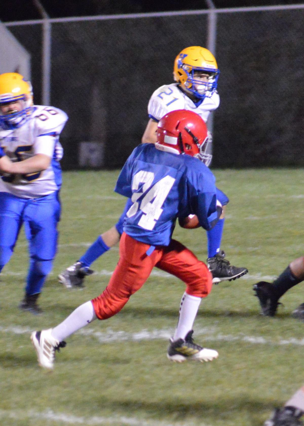 Logan Liptak West Branch football
