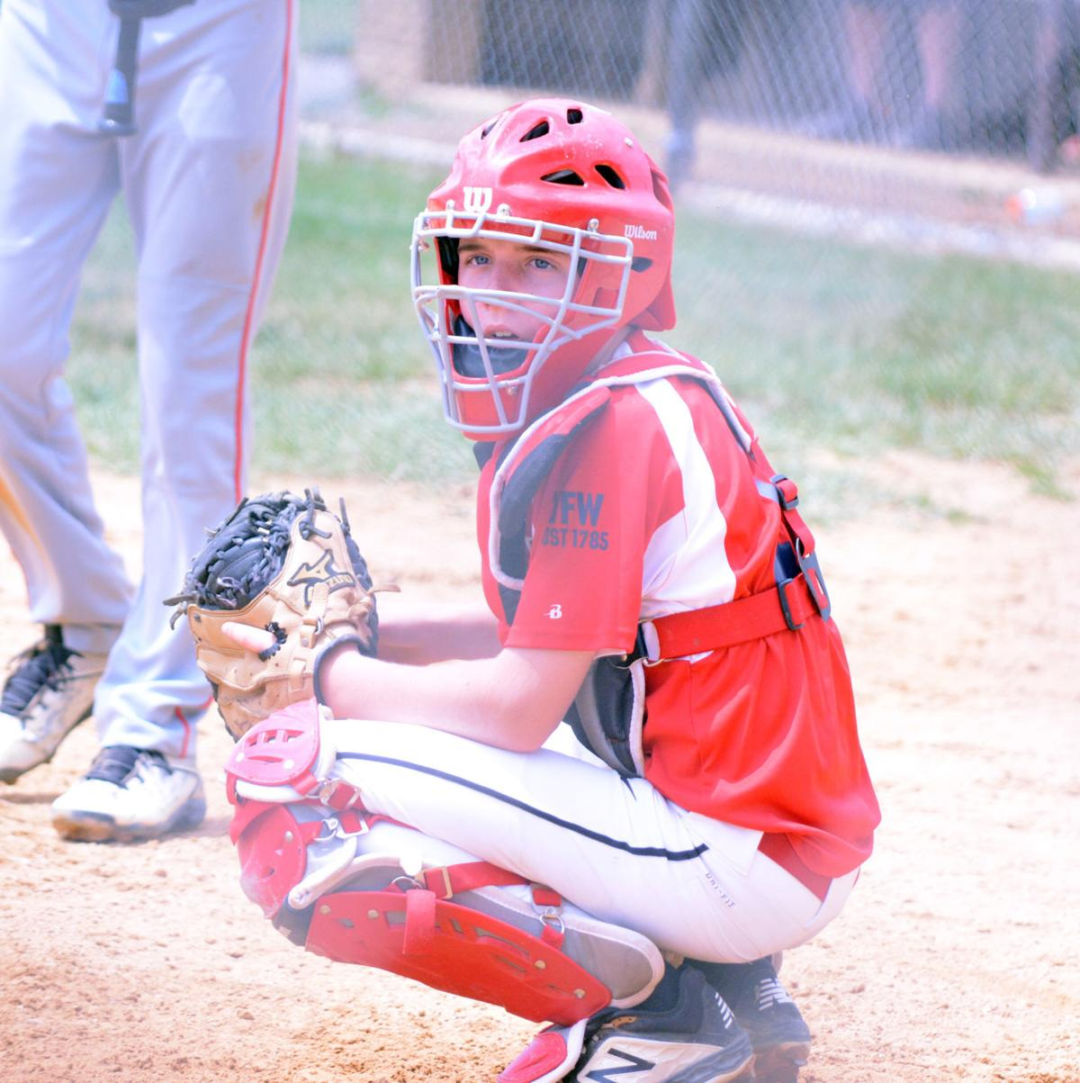 Cole Bloom catching