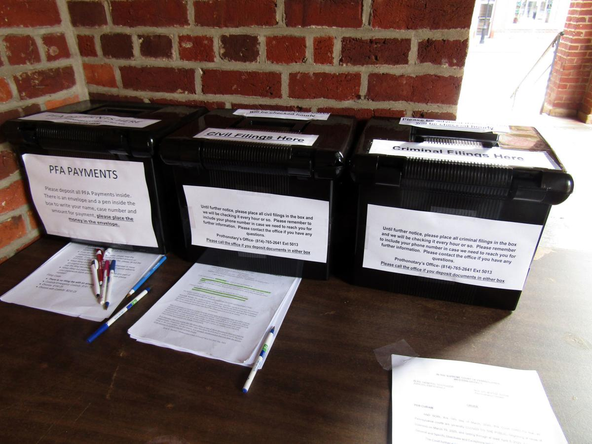 CLEARFIELD COUNTY DROP BOXES