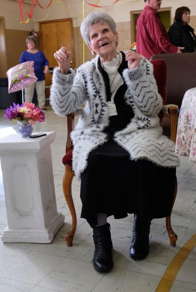 Lois Rougeux of Frenchville celebrates 100th birthday