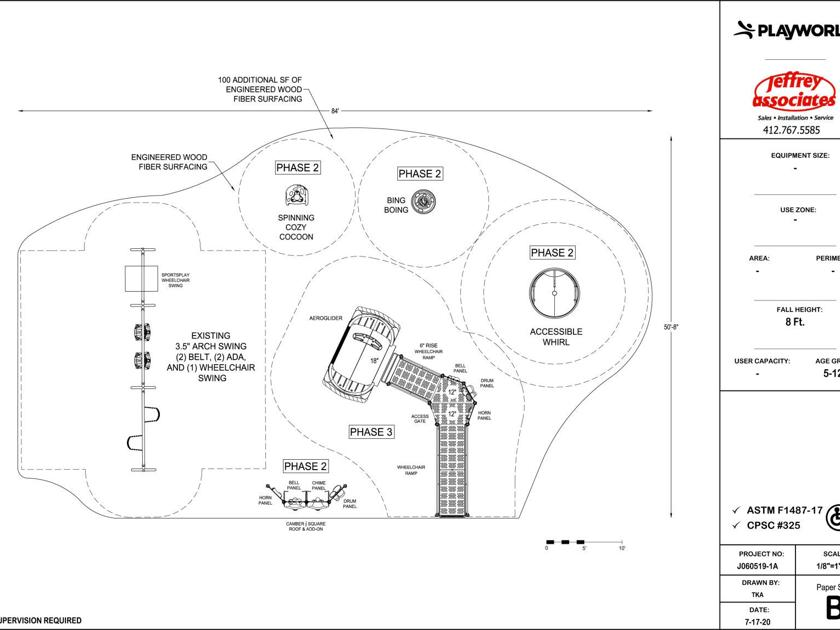 Irvin Park's inclusive playground project in need of funds